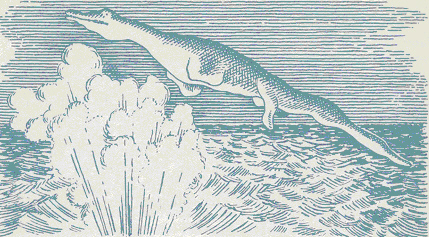 Ilustración de lo presenciado por los tripulantes del U-28
