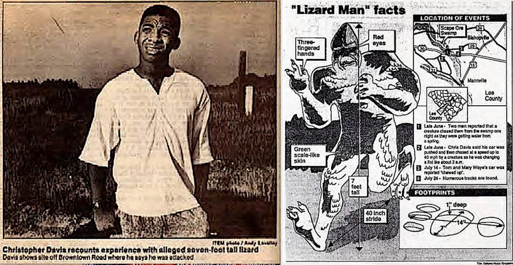 Flashback: Famed Lizard Man Witness Killed