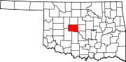 Oklahoma_highlighting_Canadian_Co