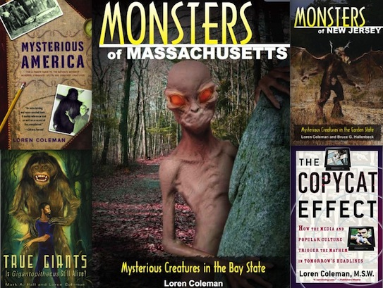 Loren Coleman: A Complete Book List (2015 Edition)