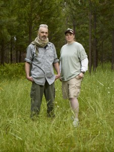 "Courtesy of Spike TV Michael Merchant of Hampden and Kat McKechnie of Bowdoinham are parters in the new reality series ""10 Million Dollar Bigfoot Bounty,"" premiering on Spike TV at 10 p.m. Jan. 10."