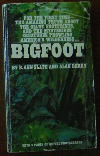 Berry Slate Bigfoot Book