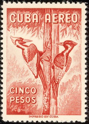 Cuba-stamp4817woodpecker