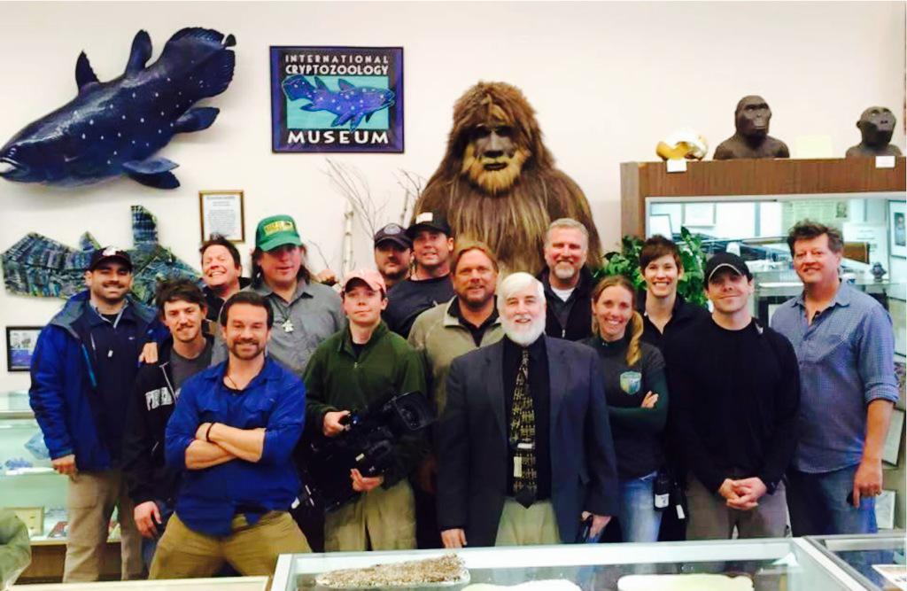 Finding Bigfoot Visits The International Cryptozoology Museum