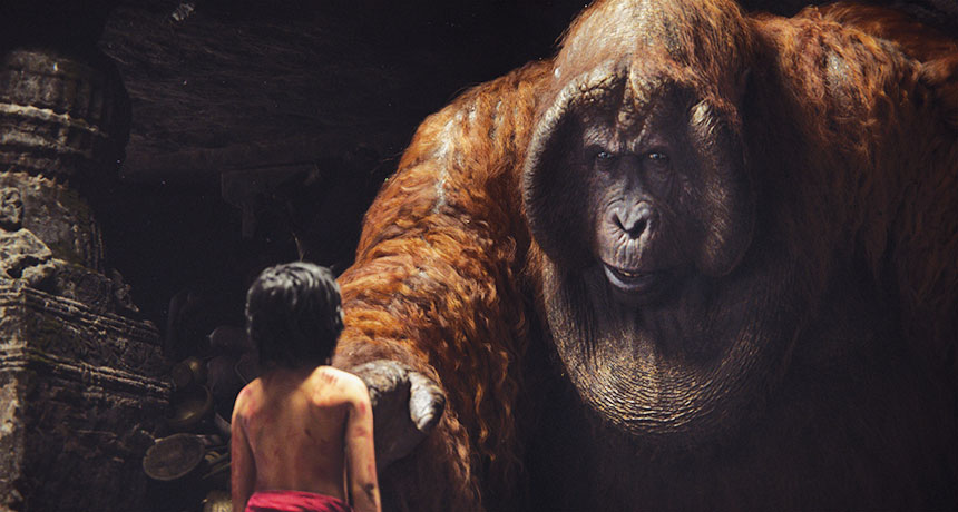Gigantopithecus Returns in The Jungle Book