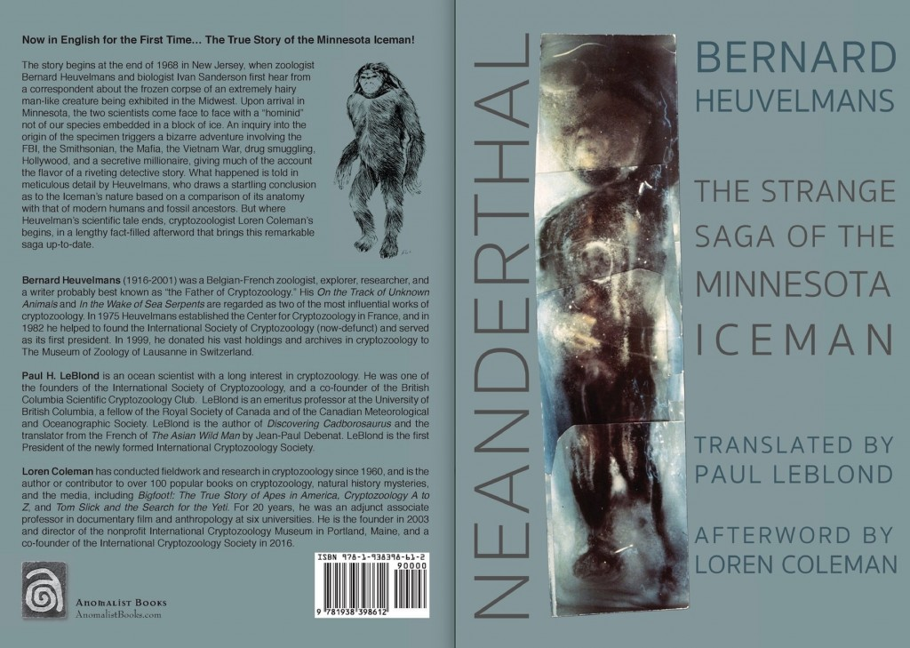 Just-Published Minnesota Iceman Book Reveals New Mystery Owner Facts, Historical Realities, and Cryptozoological Conflicts