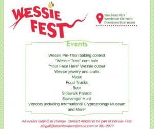 Wessie Fest event list