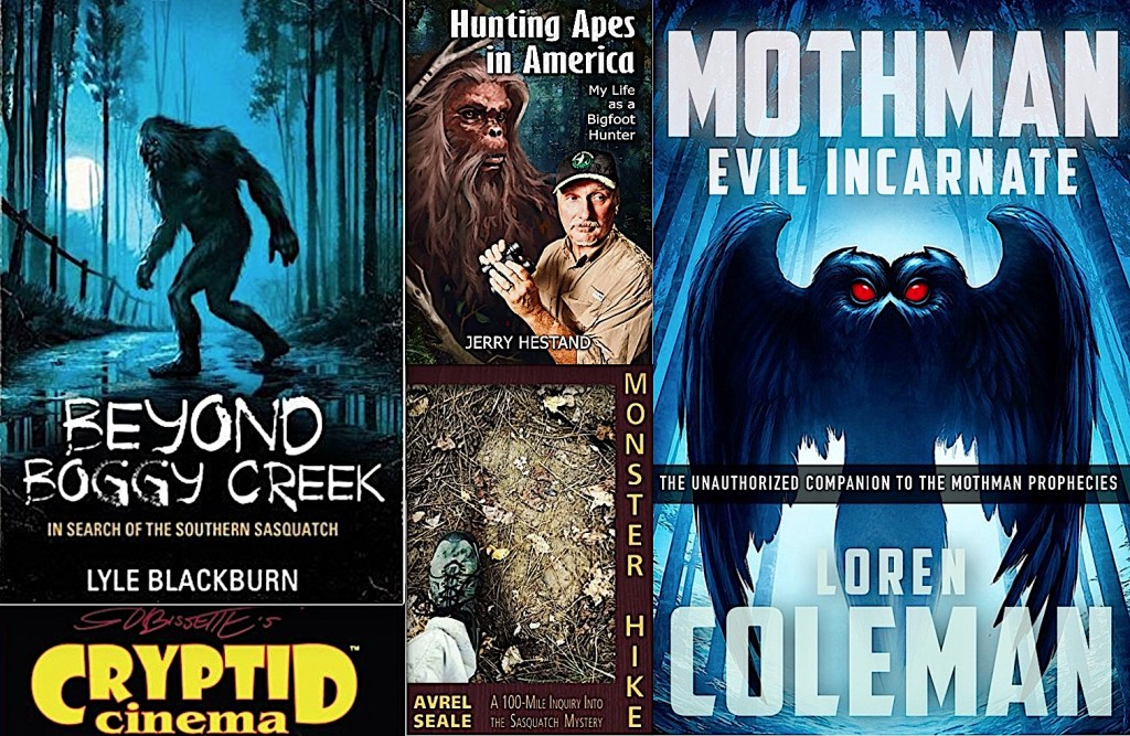 The Top Ten Best Cryptozoology Books of 2017
