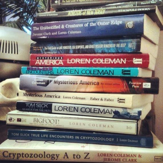 Loren Coleman's 130+ Books ~ 2018 List