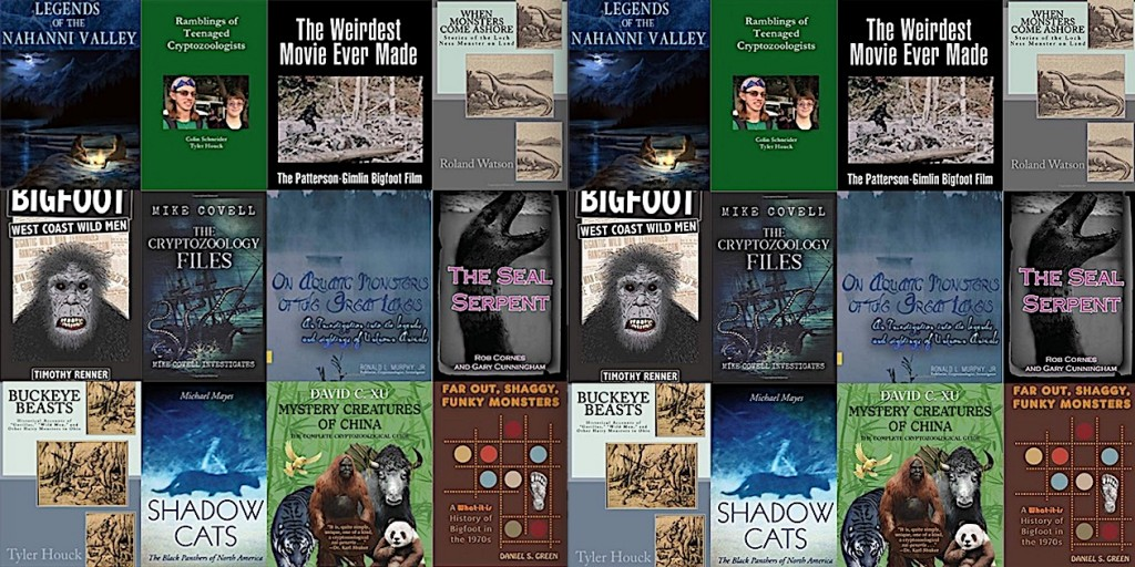 The Top Twelve Best Cryptozoology Books of 2018