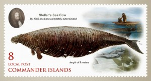 Steller's sea cow stamp 1