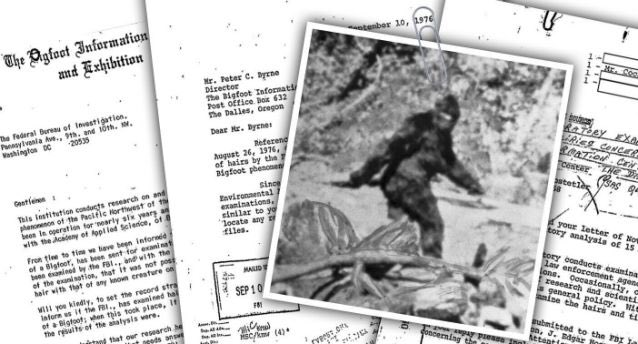 Spies in the Shadows and the FBI's Bigfoot File