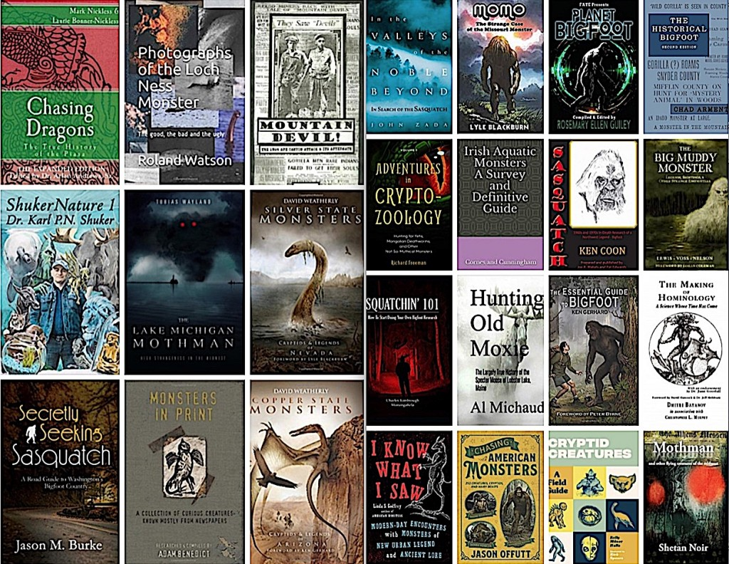 Top Cryptozoology Books of 2019