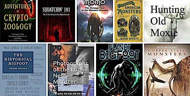 Top Twenty Cryptozoology Books of 2019