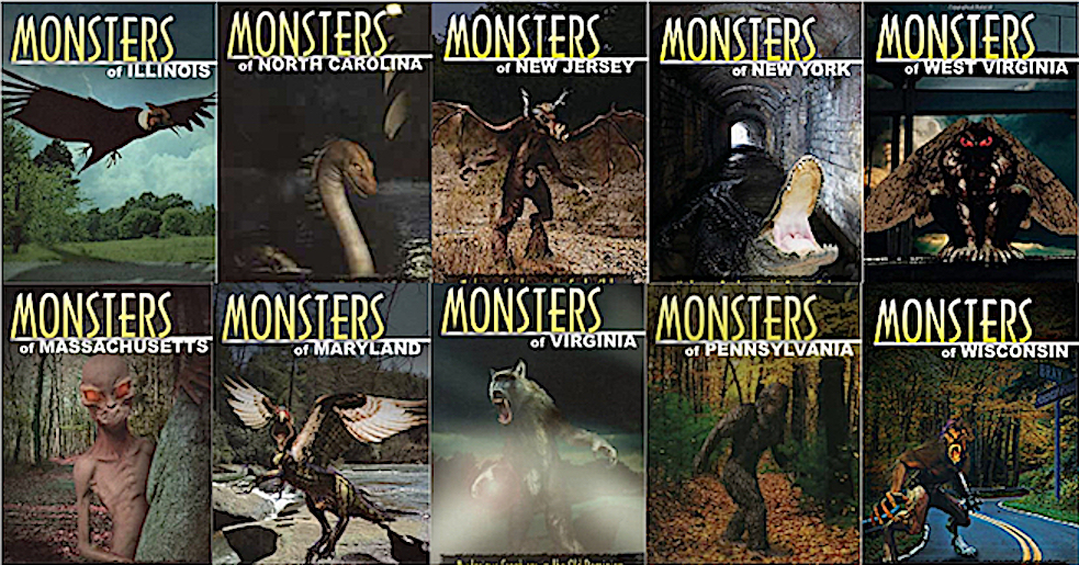 Monsters of the States: The Stackpole Series