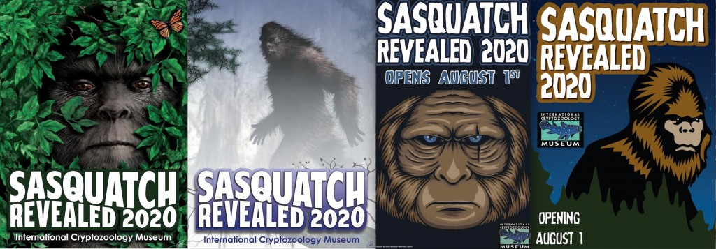 "International Cryptozoology Museum: ""Sasquatch Revealed 2020″"