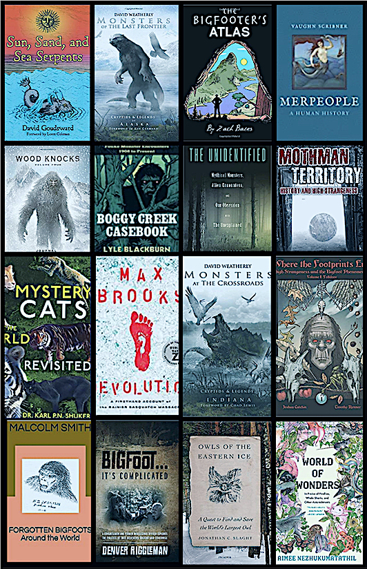 The Top 20 Cryptozoology Books of 2020